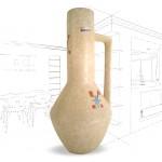 Large Scheurich 1960s Vase 285-40 .