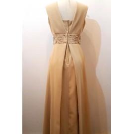 1960's Berkertex Ivory Gown