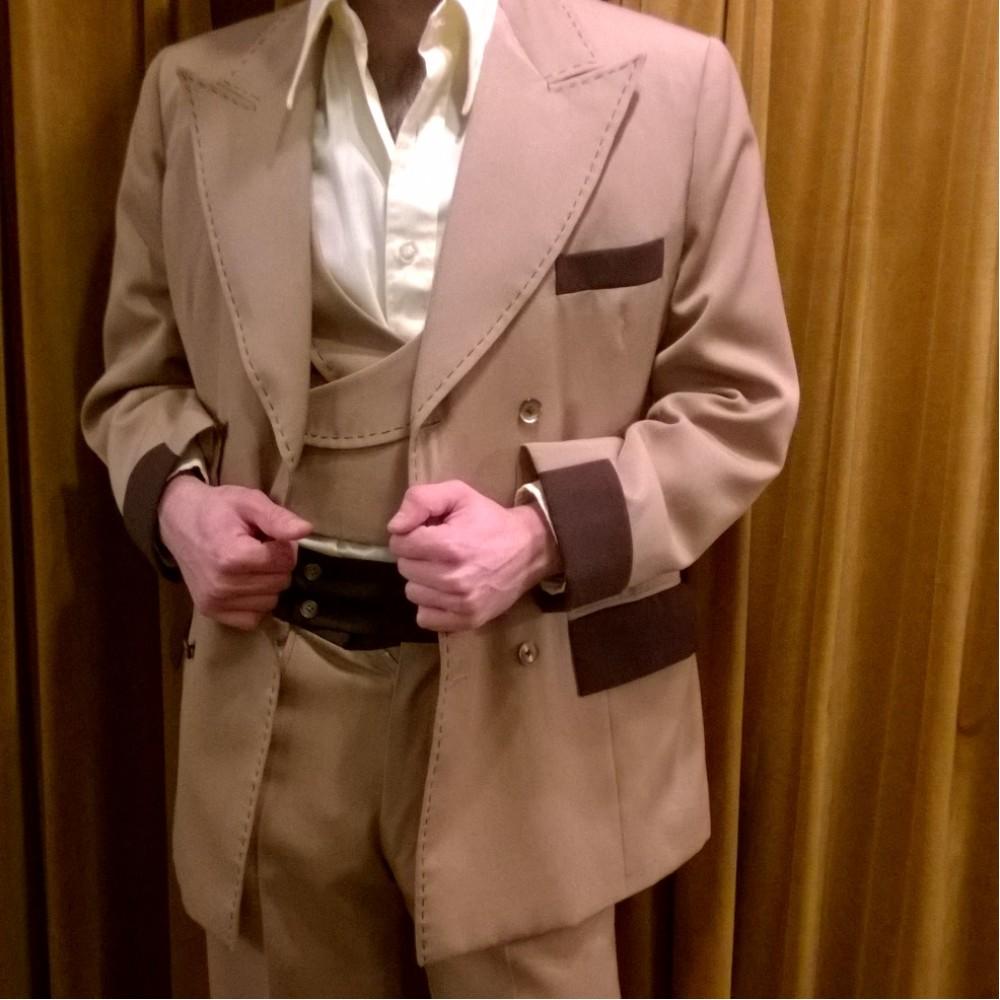 1970's 3-piece Rocker Show-biz Teddy-Boy Suit!