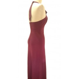 1970's Red Halterneck Dress .