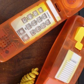 1980's Orange Mybelle Phone