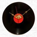 Retro His Masters Voice Record Wall Clock