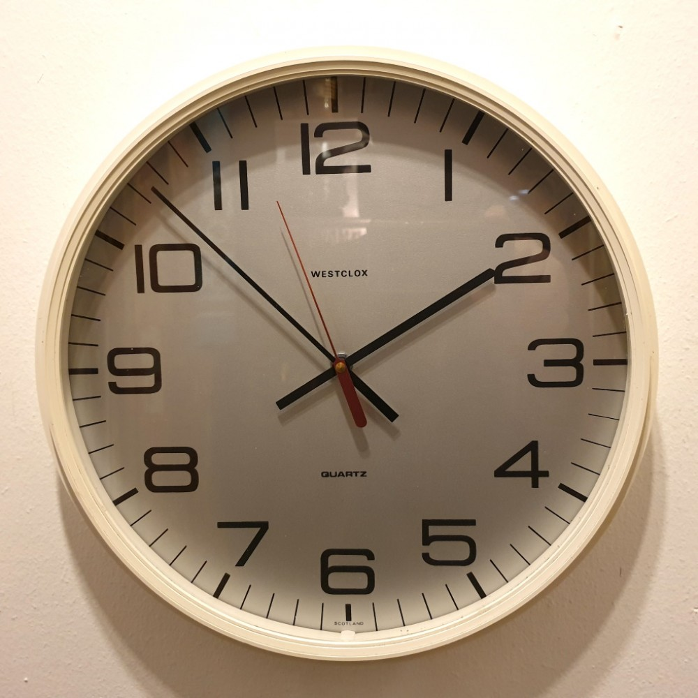 Westclox 1980's Wall Clock