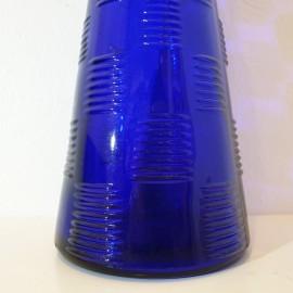 Blue Patterned Vintage Genie Bottle