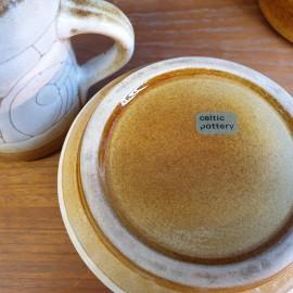 1970s Celtic Pottery Coffee Set