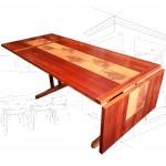 Ansager Mobler Tiled Dining Table