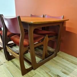 Mid-Century Portwood Teak Dining Set