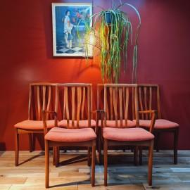 1960's Sutcliffes Teak Dining Chairs