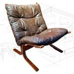 Ingmar Relling 'Siesta' Chair
