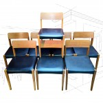 8 Vintage Beautility Dining Chairs