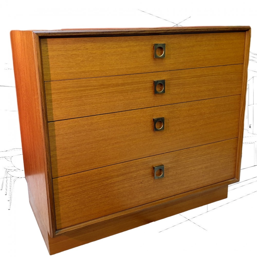 G-Plan Form Five Chest Of Drawers