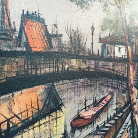 1950's Retro Paris Print by Trumpert