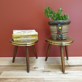 1950's Side Tables Plant Stands