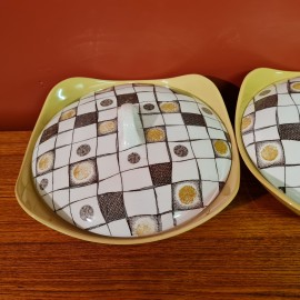 Midwinter Homespun Casserole Dish Set
