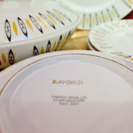 Barker Bros Zambesi Plate Set