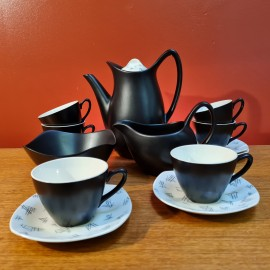 1950's Midwinter Monaco Coffee Set
