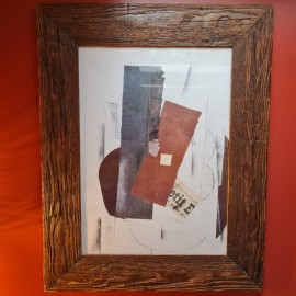 Georges Braque Print in Rustic Frame