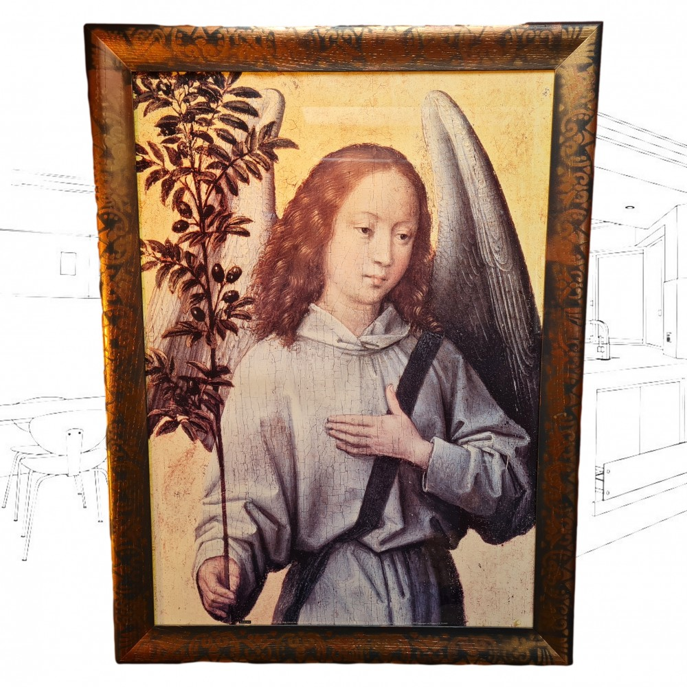 Angel Holding An Olive Branch Picture By Hans Memling