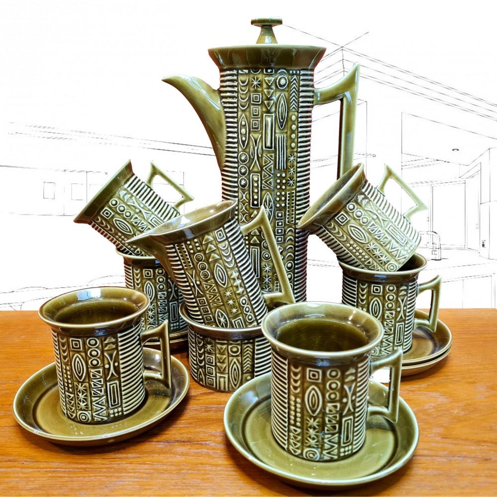 Portmeirion Cypher Coffee Set