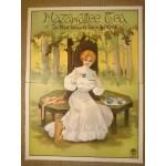 1920's Large Mazawattee Tea Poster