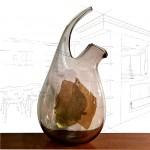 Ian Bamforth Pirouette Decanter Vase