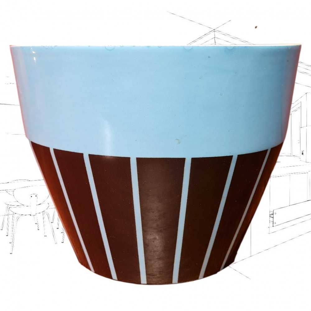 Blue Hornsea Planter 875