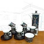 1960's Portmeirion 'Magic City' Coffee Set