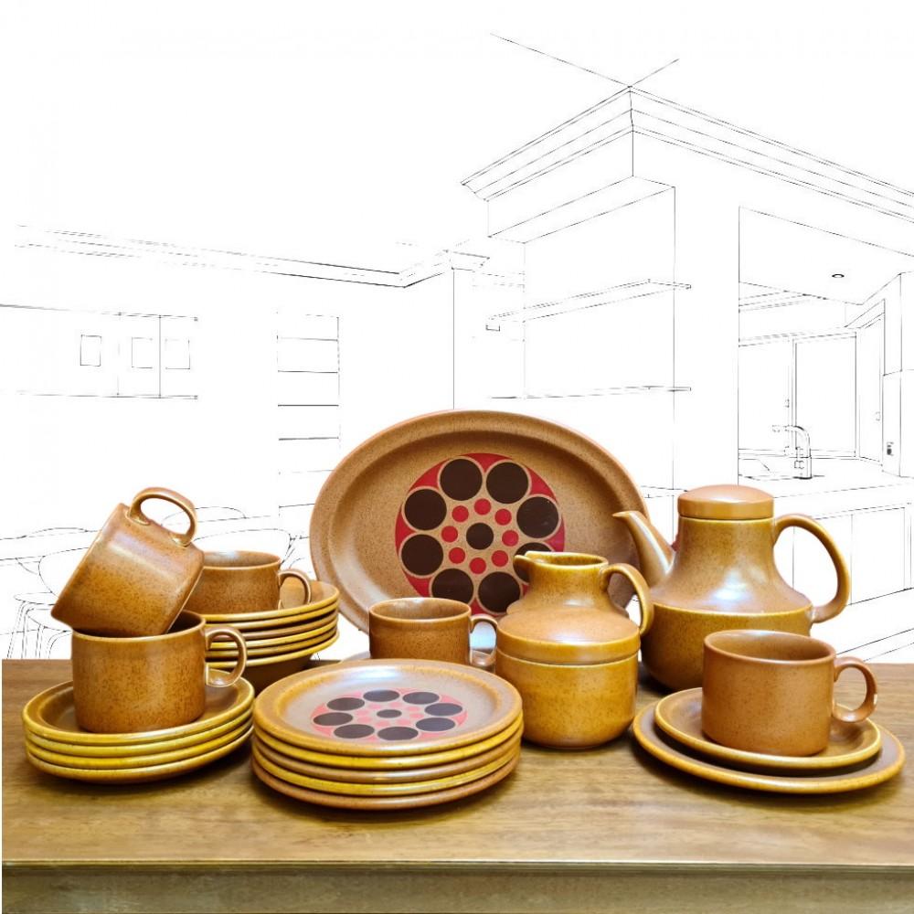 Grindley 'Bar Harbour' 1970's Tea Set