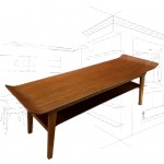 Myers Bent Plywood Coffee Table