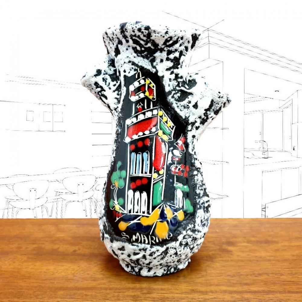 San Marino Triple Vase