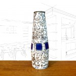 Schlossberg Blue Capri Vase
