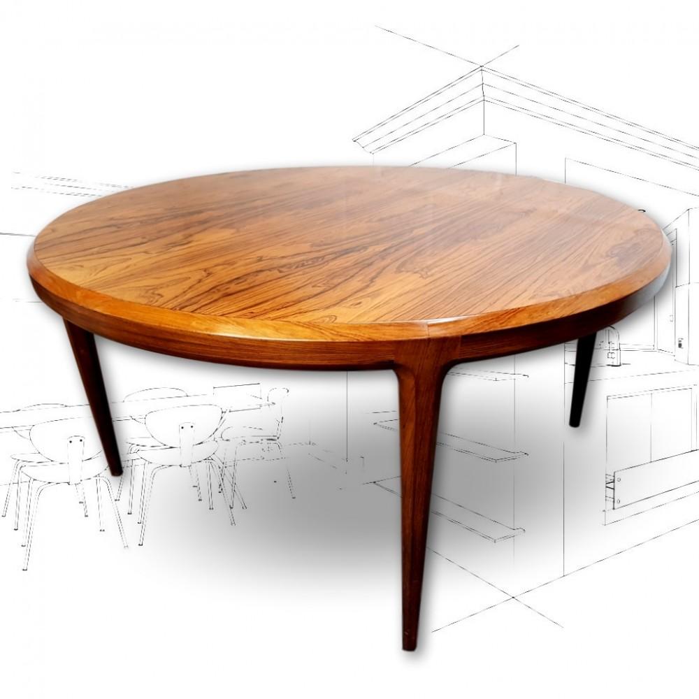 Johannes Andersen Rosewood Coffee Table .