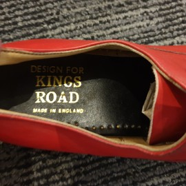 Red Kings Road Winkle Picker Shoes