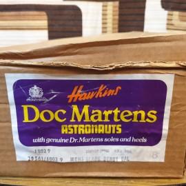 1970's Unworn Dr Martens Black Astronauts