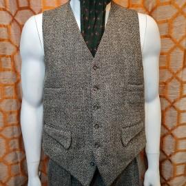 Burtons Vintage Harris Tweed Three Piece Suit