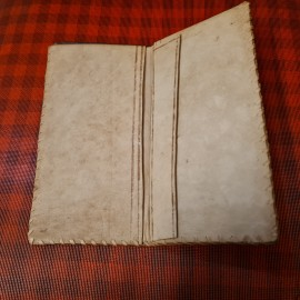 Vintage African Leather Wallet