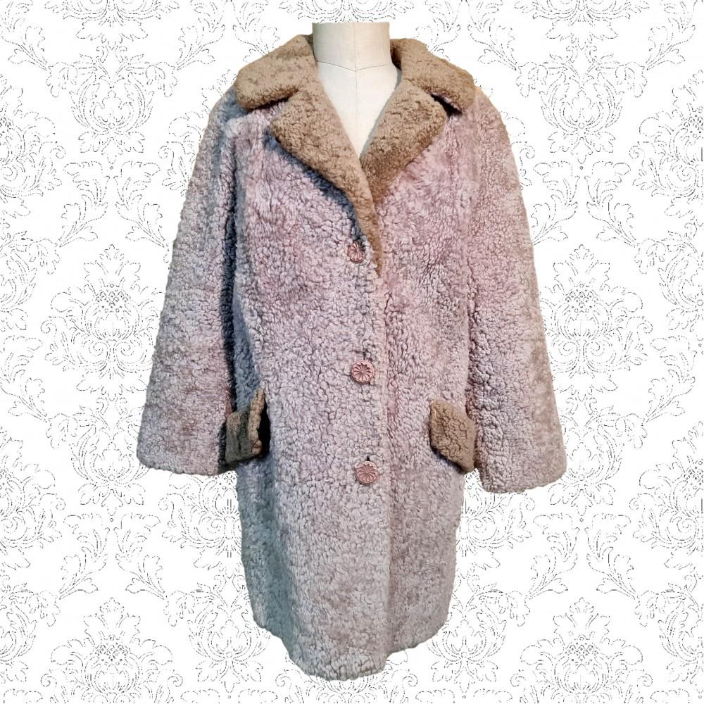 1960's Skandipals Swedish Shearling Coat