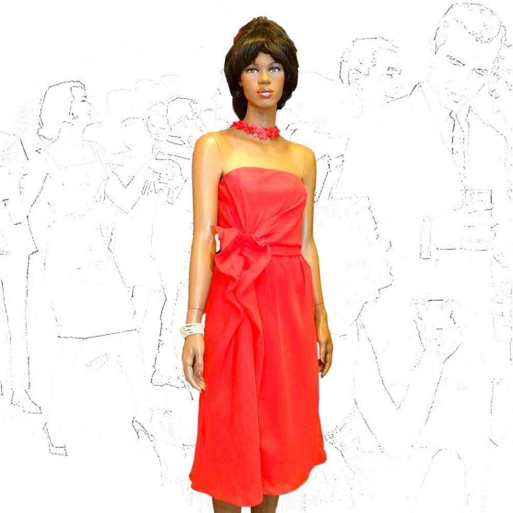 Frank Usher Red Cocktail Dress