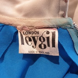 1960's Leygil Blue Skater Dress
