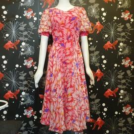 1930's Style Chiffon Dress
