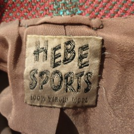 1950's Hebe Sports Red Suit