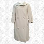 1950's Michael London Cream Wool Coat