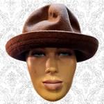 Kangol Brown Buffalo Girl Hat