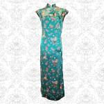 Green Chinese Cheongsam Dress