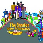 Beatles Framed Yellow Submarine Print