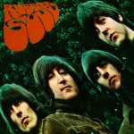 Beatles Framed Rubber Soul Print .