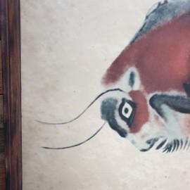 Altamira Bison Cave Painting Print