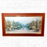 1970's Folland Autumn Boulevard Framed Print .
