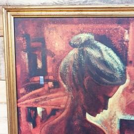 Per Dahl Christina Framed Print .